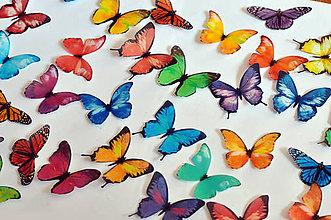 Drobnosti - Mix 15 ks jedlých motýlikov - 7996854_