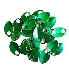 Komponenty - Šupiny malé zelené 10 ks - 7995372_