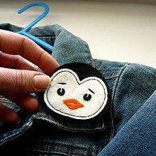 Detské doplnky - Pingu na tričko... - 7995130_