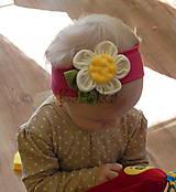 Detské doplnky - Čelenka pre deti - Rozkvitnutá - 7995785_