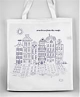 Nákupné tašky - Nákupná taška - rozhlásim zo striech - 7995841_