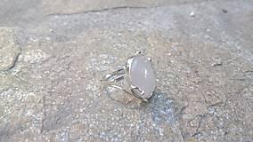Prstene - Strieborný prsteň - 7996107_