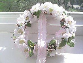 """Dekorácie - Jarný venček na dvere """"...pod jabloňou..."""" - 7994497_"""