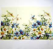 Papier - Servítka KV2- Lúčne kvety 33x42 cm - 7995296_