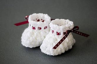 Topánočky - Jemné topánočky Čičmany - 7994098_