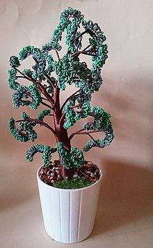 Dekorácie - stromcek stastia  zeleny - 7994340_