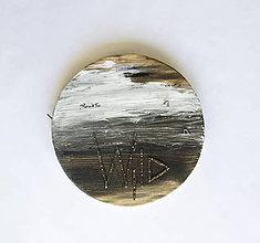 Iné - Držiak na kľúče - Wood&Wire Wild - 7994375_