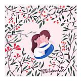 Grafika - Milujem Ťa - 7993881_