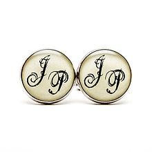 Šperky - *Manžetky s monogramom na želanie* - 7994502_