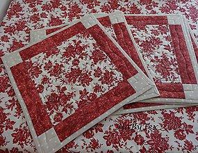 Úžitkový textil - Súprava - podložky + obrus - 7993526_