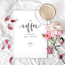 Grafika - Artprint // coffee - 7995197_