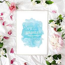 Grafika - Artprint // sparkle - 7995204_