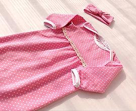 Detské oblečenie - Ružové sny - 7996904_