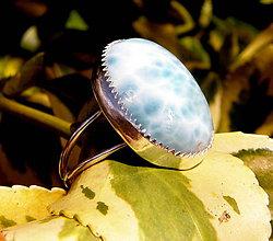 Prstene - Larimarový... - 7996538_