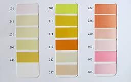 - Vzorkovník farieb-Saténové stuhy - 8000287_