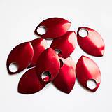 Komponenty - Šupiny velké červené 10 ks - 7997524_