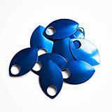 Komponenty - Šupiny velké modré 10 ks - 7997538_