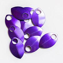 Komponenty - Šupiny velké fialové 10 ks - 7997530_