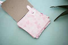 Papiernictvo - Visačky / menovky na darčeky *ružové - 7997619_