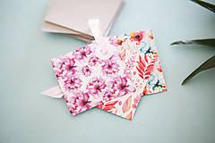 Papiernictvo - Visačky / menovky na darčeky *ružové - 7997621_
