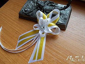 Pierka - svadobné pierko pre rodičov, svedkov,starostu - 7997568_