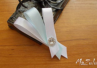 Pierka - svadobné pierko stredné - 7997622_