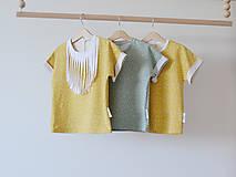 Detské oblečenie - BIO Oversize tričko Bodky - 7997122_