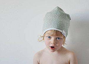 Detské čiapky - Jarná čiapočka - 7997116_