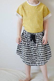 Detské oblečenie - Bio sukňa s vreckami - 7997127_
