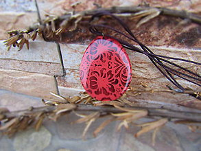 Náhrdelníky - Prívesok ornamenty - 7998049_