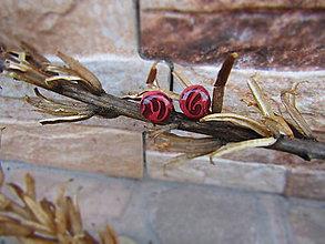 Náušnice - Ornamenty v napichovačkách - 7998068_
