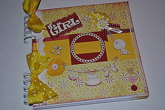 Papiernictvo - Albumček dievčatko+zápisky 1.r. - 7998962_