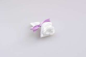 Pierka - Pierko biele ruža (bielo-fialové) - 7997997_