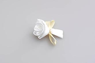 Pierka - Pierko biele ruža (bielo-krémové) - 7998223_