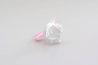 Pierka - Pierko biele ruža (bielo-ružové) - 7998310_
