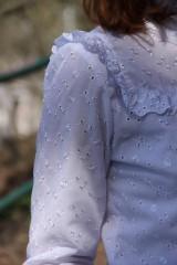 Košele - Biela romantická blúzka - 8000289_