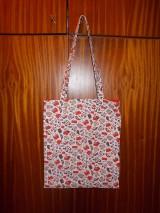 """Detské tašky - Taška """"kabelky a lodičky"""", červená - 7997444_"""