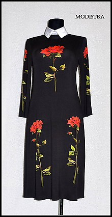 Textil - Úplet s ružami - 7997335_
