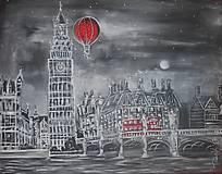 Vyhliadkový let nočným Londýnom