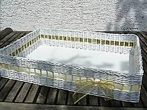 - Veľký svadobný košík - plató 40x50x10cm - 8001546_