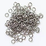 Komponenty - 3,25/1,0 100ks Světlé - eloxovaný hliník - 8000999_
