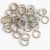 Komponenty - 5/1 100ks Světlé - eloxovaný hliník - 8001059_