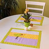 Úžitkový textil - Prestieranie - Z farebného vajíčka :) - 8000655_