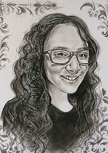 Kresby - Slečna-portrét - 8003458_