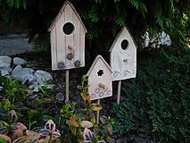 Dekorácie - Domčeky maličké - 8001198_