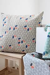 Úžitkový textil - Obliečka na vankúš-Béžová - 8002563_