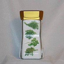 Nádoby - Dóza na zelené bylinky - 8000474_
