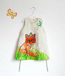 Detské oblečenie - líška malá - 8002877_