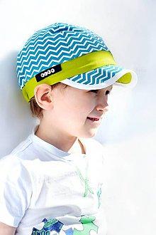 Detské čiapky - letná šiltovka cik-cak - 8000614_
