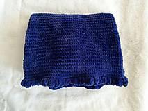 Textil - pletená deka. - 8002879_